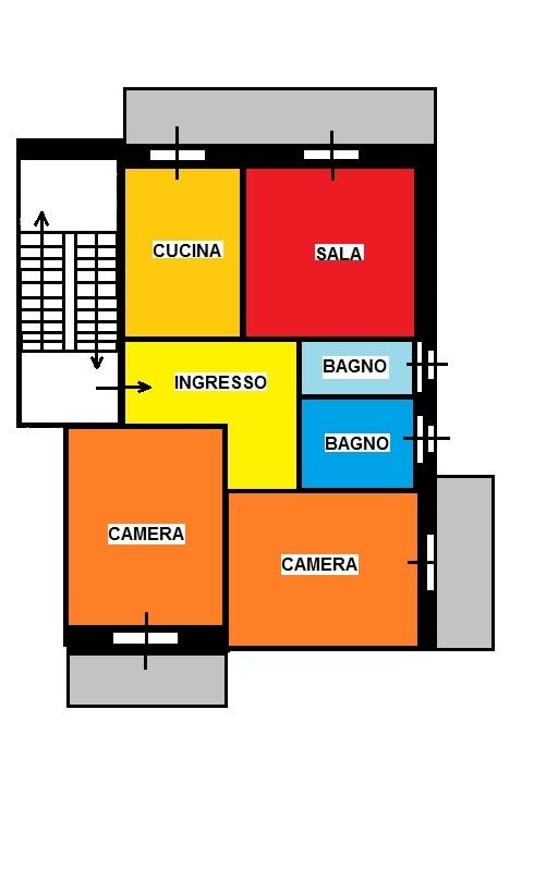 Creare planimetria casa for Software per planimetrie